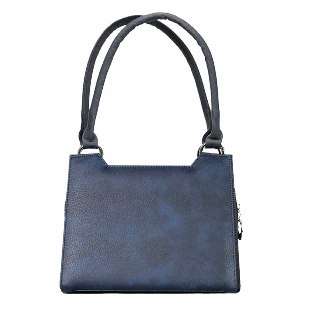 dunkelblaue Damenhandtasche Sitka komplett Set