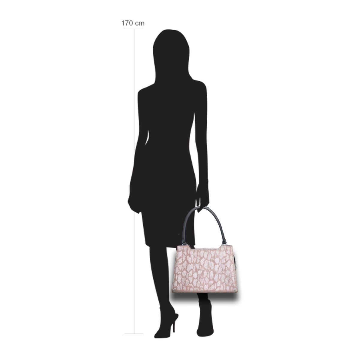 Delieta Puppe 170 cm groß  mit Handtasche Modell: Toulouse