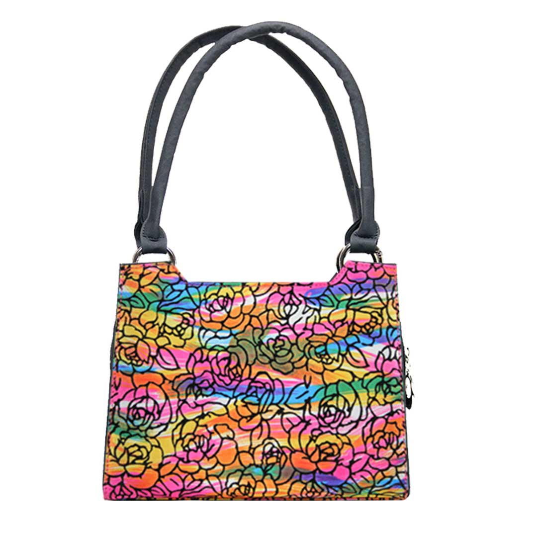 Farbenfrohes Samtdesign als Komplett Tasche Jamaika