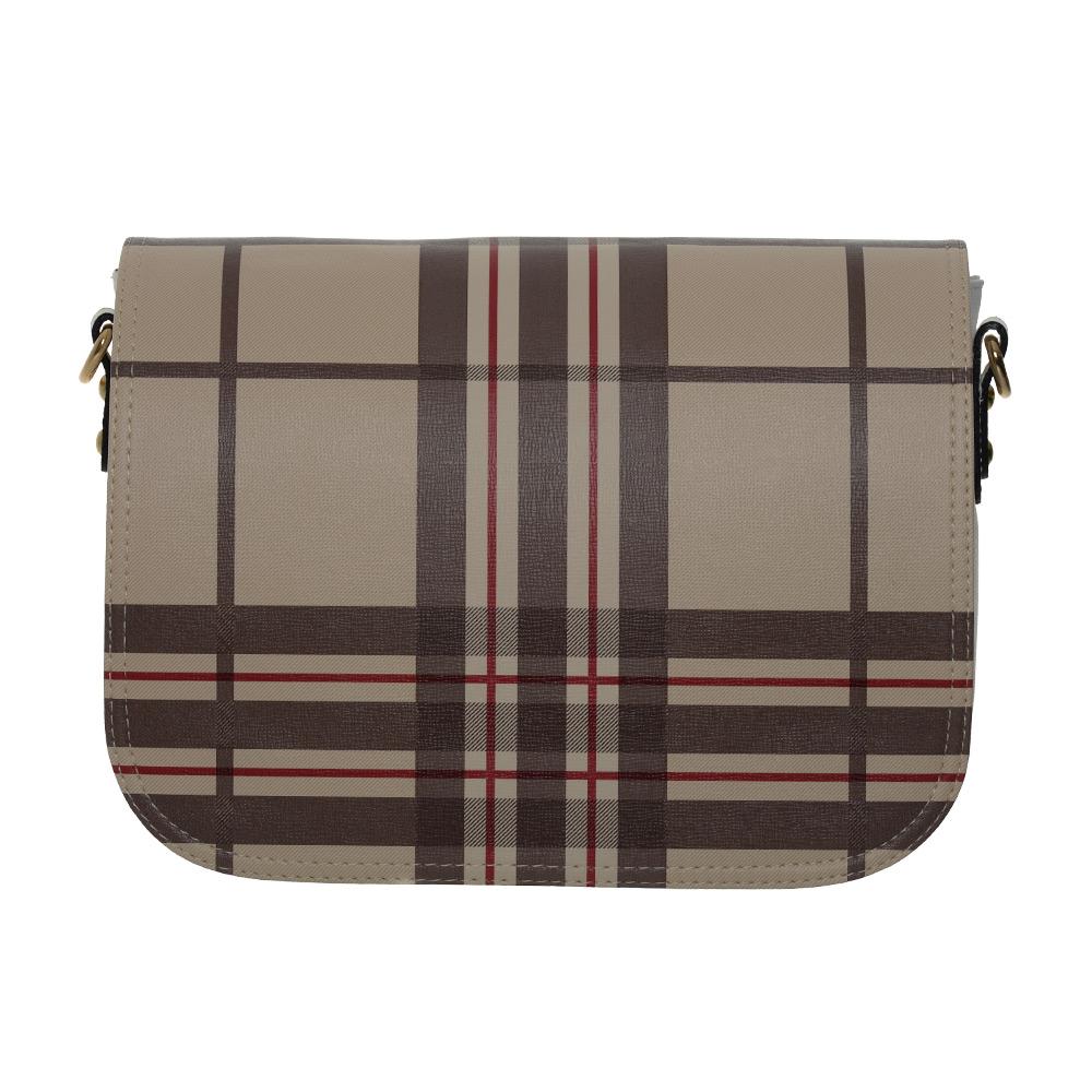 klassisches Wechseldesign für eine Delieta Damenhandtasche Modell soft Bag
