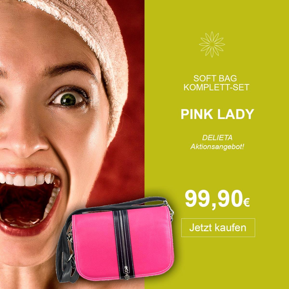 Pink Lady Komplett Set