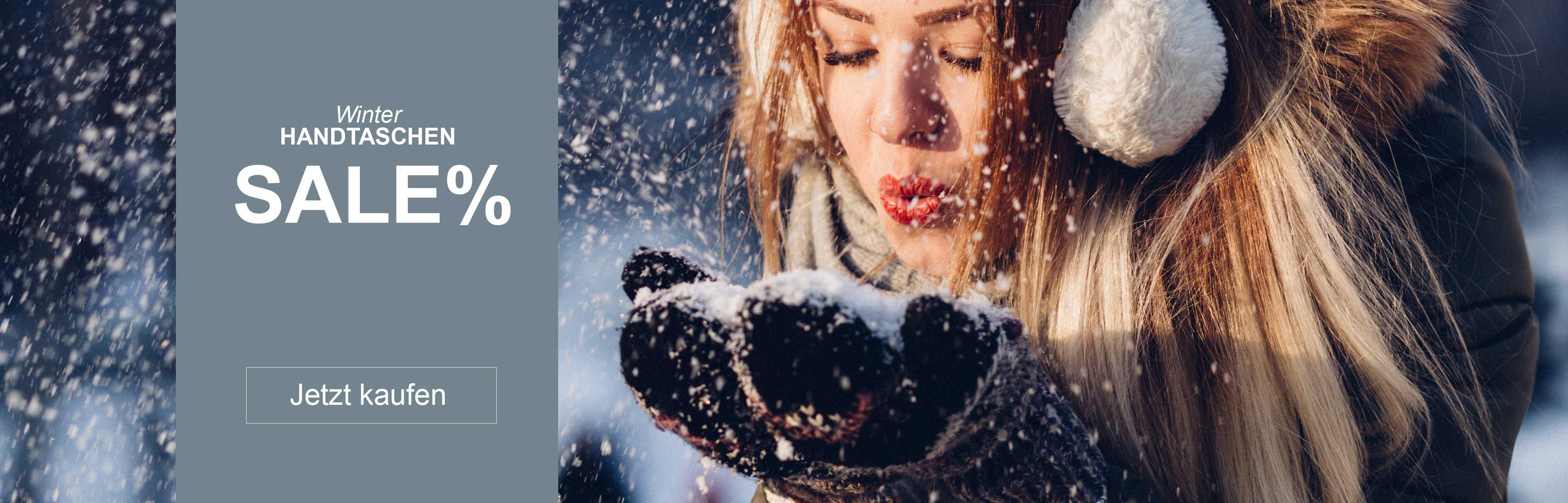 Damenhandtaschen von Delieta Winterangebote Slider