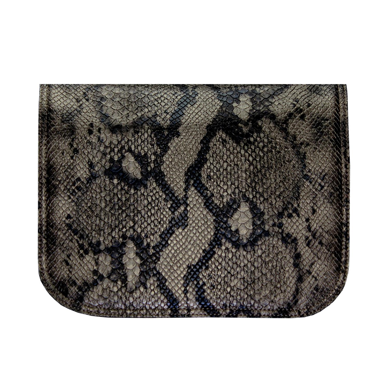 Schlangenoptik in schwarz goldfarben passend für die soft Bag