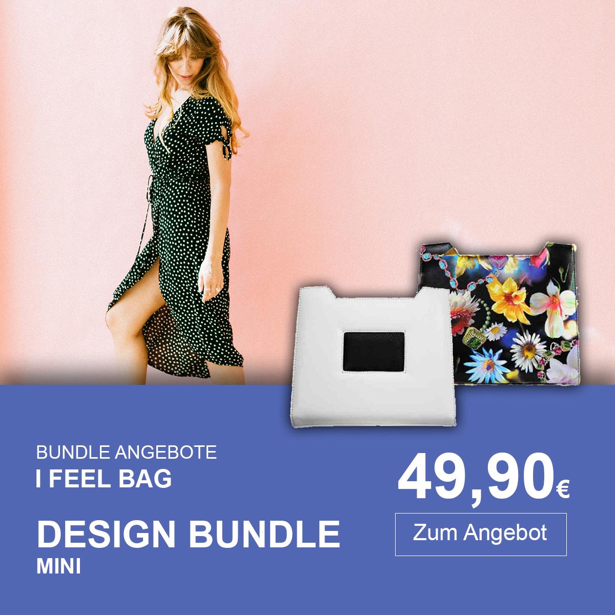Design Bundle fuer Delieta mini Damenhandtaschen