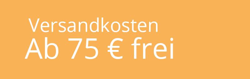 Versandkosten frei ab 75€