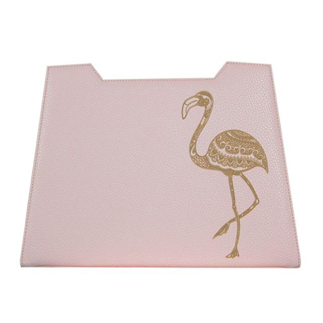 rosafarbenes Design mit Flamingo Lasergravur