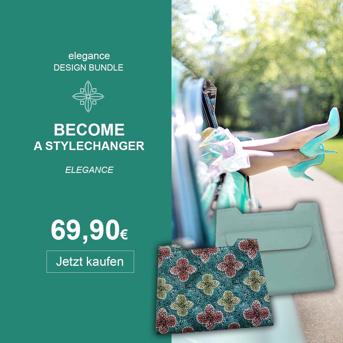 Handtaschen Wechseldesign Lissabon und Mainau im Bundle elegance