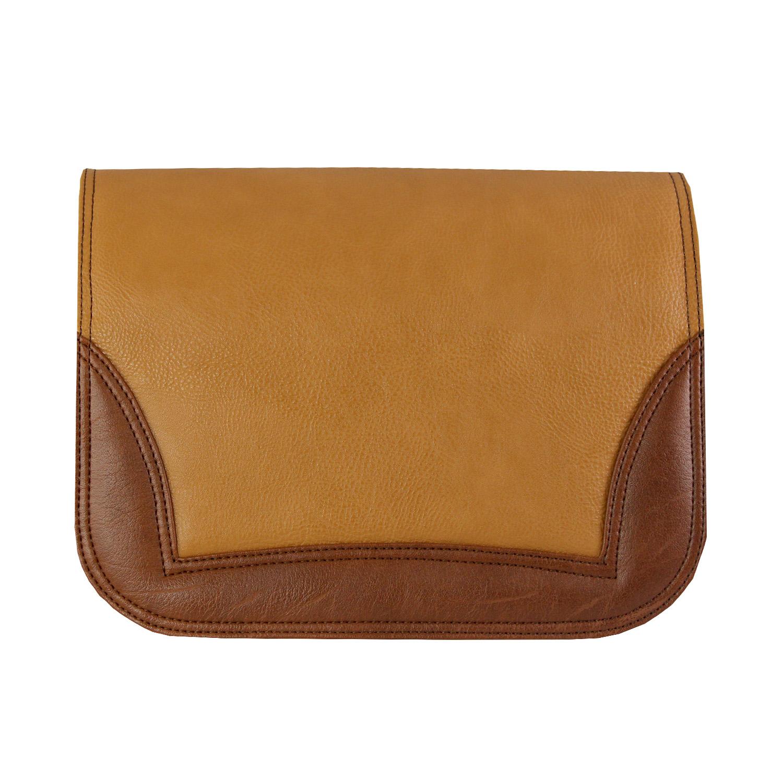 zweifarbiges Braunes Design für die soft Bag von Delieta
