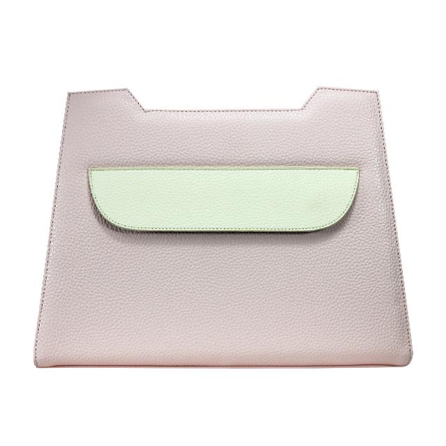 Lissabon Designserie rosa weiss Das Design in Rosa hat Quer eine Klappe an der Vorderseite