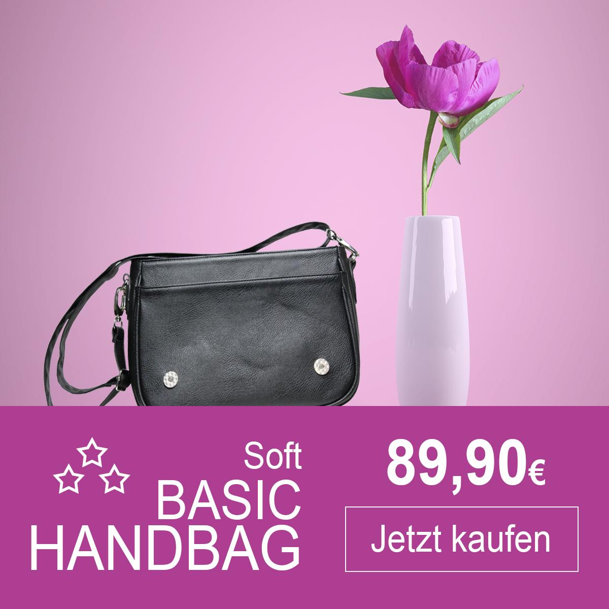 Soft Basic Handtasche von Delieta